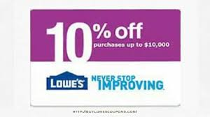 Lowes 10% coupon for real estate clients